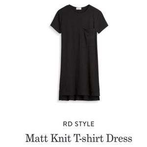 RD Style T-shirt Dress w/ Oversized Front Pocket